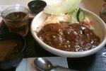 ロコモコ丼ホット風