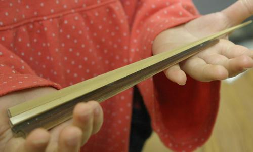 白竹箸と煤竹箸