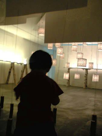 照明の展示