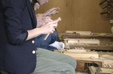 箸作りワークショップ