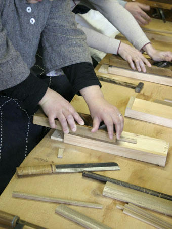 竹箸つくり