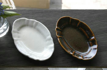 長峰菜穂子 オーバル皿