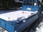 またもや雪、今回のほうが積もりました