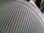 あや織りタイプの樹脂製です