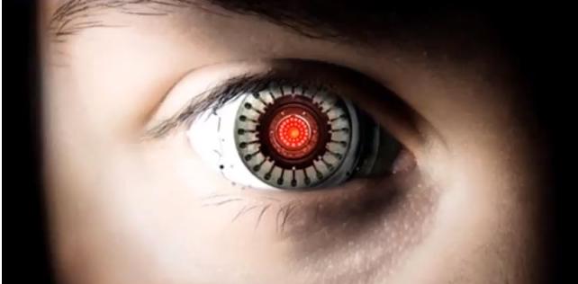 拡張現実の世界 Augmented reality Contact L...