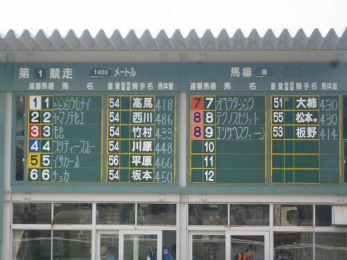 姫路競馬場 パドック