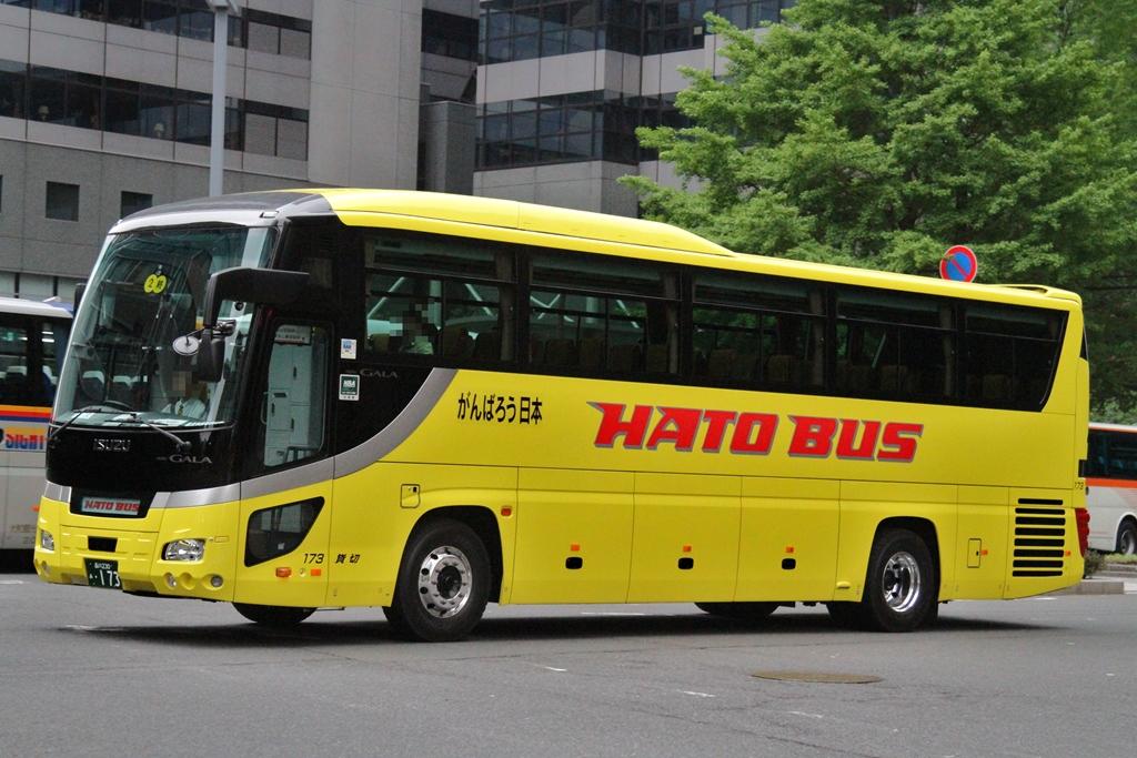 カレンダー カレンダー 1月 : はとバス LKG-RU1ESBJ レインボー ...