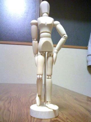 木人形さん