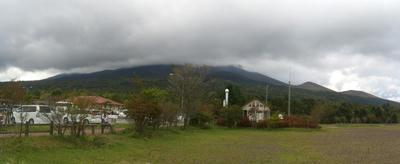 ●水ヶ塚駐車場より富士山方面を望む