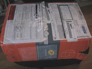 こんな薄い箱でよく届いたもの