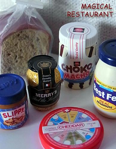 ライ麦パンで朝ごはんセット