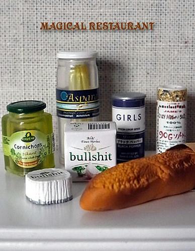 フランスパンで軽食セット