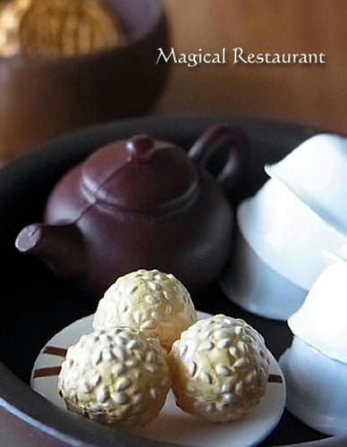 中国茶&ごまだんご