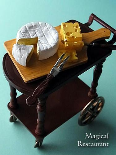 「フランス三ツ星レストラン」 7.チーズ