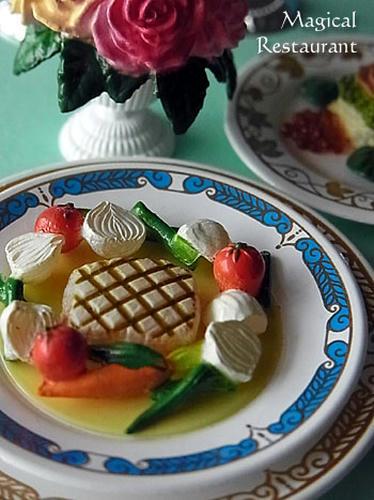 「フランス三ツ星レストラン」 6.スズキのグリル