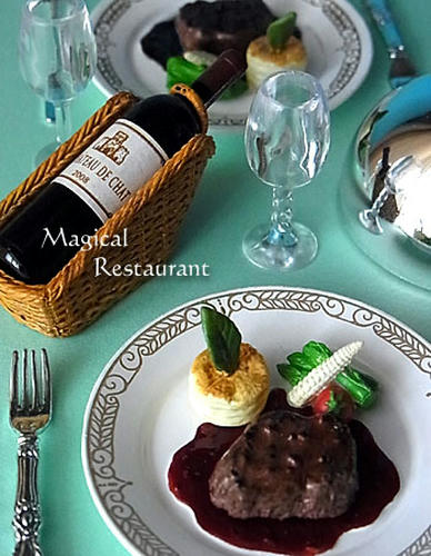 「フランス三ツ星レストラン」 5.牛フィレ肉のロースト