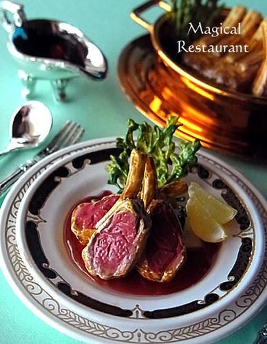 「フランス三ツ星レストラン」 3.仔羊のロースト