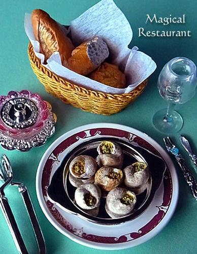 「フランス三ツ星レストラン」 2.エスカルゴ