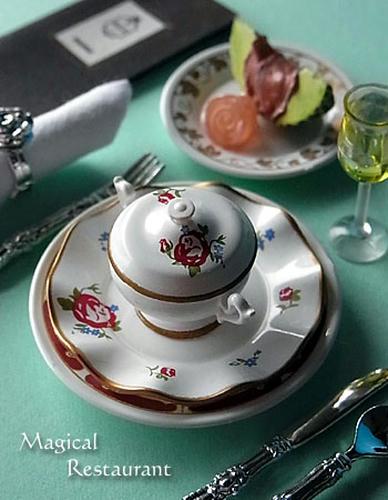 「フランス三ツ星レストラン」 1.前菜・スープ