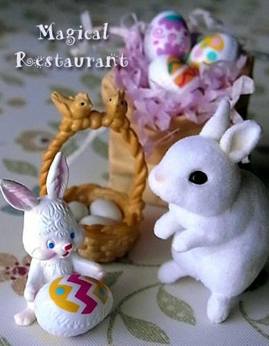 イースターウサギがやってきた!!