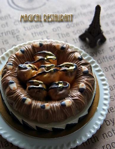 「ケーキ オン パレード」モンブラン