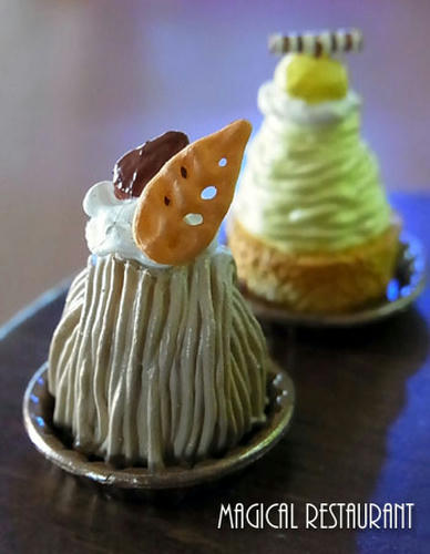 「ケーキ屋さん」モンブラン