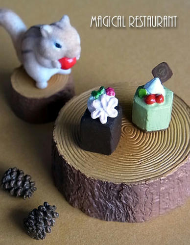 森のデザートタイム