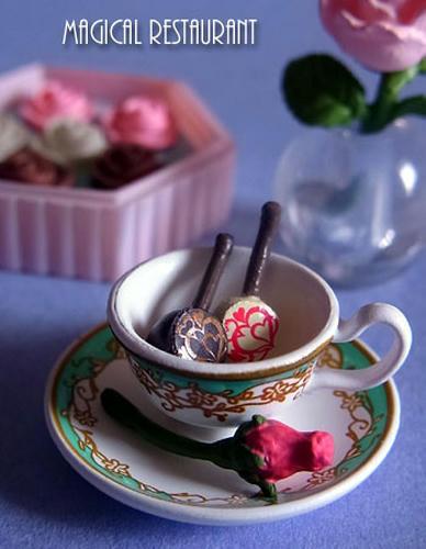 バラを味わう贅沢な時間
