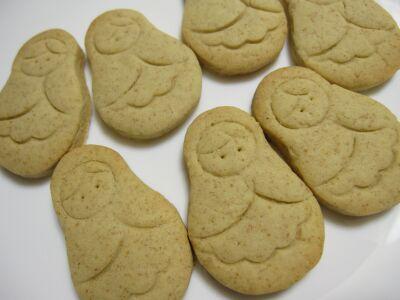 マトリョーシカのクッキー