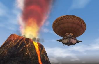 ザルディンだ!気球だ!ドラゴンだ!
