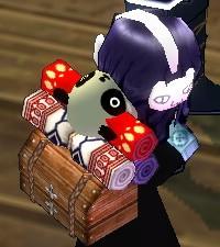パンダも荷物に入ります