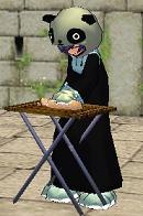 料理にハマるパンダ