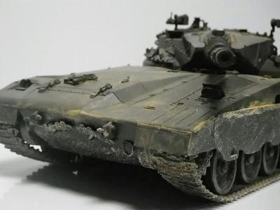 1/35 ミリタリーミニチュアシリーズ メルカバ主力戦車