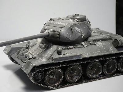 1/35 ミリタリーミニチュアシリーズ ソビエト T34/85 中戦車