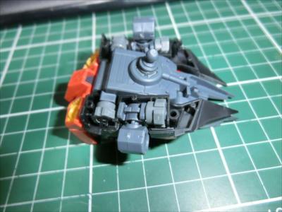 RE/100 機動戦士ガンダムZZ AMX-107 バウ レビュー2