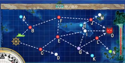 【艦これ】南西諸島海域 沖ノ島沖・沖ノ島沖戦闘哨戒 2-5攻略