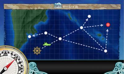 【艦これ】北方海域 モーレイ海域 3-1攻略