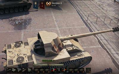 【WOT】課金戦車 Rheinmetall Skorpion G