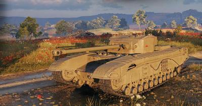 【WOT】Tire7 イギリス重戦車 Black Prince