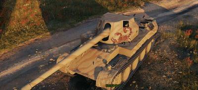 【WOT】Tire8 ドイツ課金駆逐戦車 Rheinmetall Skorpion G