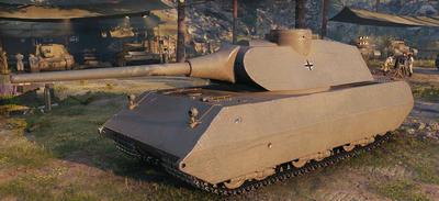 【WOT】Tire8 ドイツ重戦車 VK 100.01 (P)