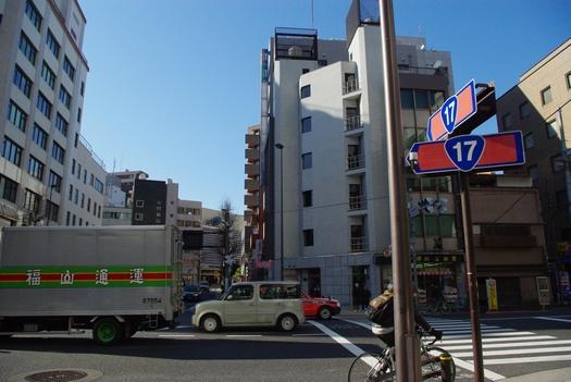 ちなみに国道17号は東京方面にこのあともう一度方向を変える。