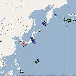 週間世界の地震ニュース(地図)