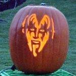 ハロウィンのアートかぼちゃ