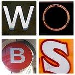 Frickrの画像を組み合わせたロゴ