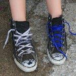 ひも靴を一瞬で結ぶ方法