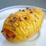 新簡単ポテト料理レシピ(ハッセルバック・ポテト)