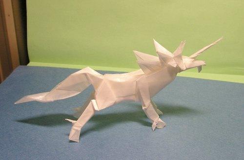 すべての折り紙 折り紙 エンシェントドラゴン : 折り紙記録