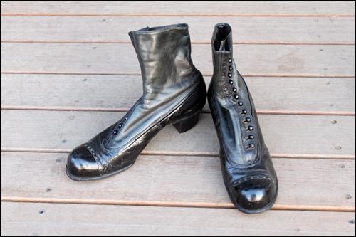ヴィクトリア朝の靴