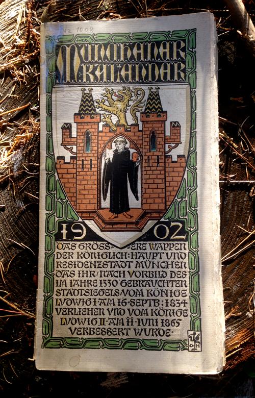 オットーハップのミュンヘンカレンダー1902年